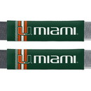 Miami Hurricanes Seat Belt Pads Rally Design