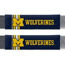 Michigan Wolverines Seat Belt Pads Rally Design