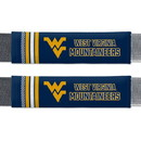 West Virginia Mountaineers Seat Belt Pads Rally Design