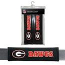 Georgia Bulldogs Seat Belt Pads Velour
