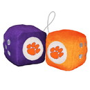 Clemson Tigers Fuzzy Dice Special Order