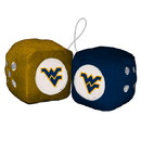 West Virginia Mountaineers Fuzzy Dice Special Order
