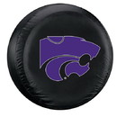Kansas State Wildcats Tire Cover Large Size Black Special Order