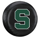Michigan State Spartans Tire Cover Large Size Black Special Order