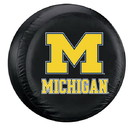 Michigan Wolverines Tire Cover Large Size Black Special Order