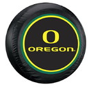 Oregon Ducks Tire Cover Large Size Black Special Order