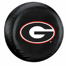 Georgia Bulldogs Black Tire Cover - Standard Size