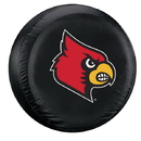 Louisville Cardinals Tire Cover Standard Size Black Special Order