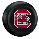 South Carolina Gamecocks Black Tire Cover - Standard Size