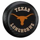 Texas Longhorns Tire Cover Standard Size Black