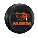 Oregon State Beavers Tire Cover Standard Size Black Special Order