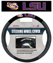 LSU Tigers Steering Wheel Cover Mesh Style