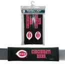 Cincinnati Reds Seat Belt Pads Velour Special Order