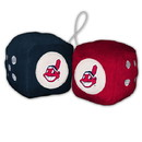 Cleveland Indians Fuzzy Dice