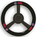 Chicago Cubs Steering Wheel Cover - Leather
