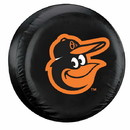 Baltimore Orioles Black Tire Cover - Standard Size