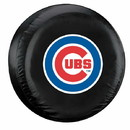 Chicago Cubs Black Tire Cover - Standard Size