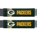 Green Bay Packers Seat Belt Pads Rally Design