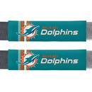 Miami Dolphins Seat Belt Pads Rally Design