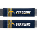 Los Angeles Chargers Seat Belt Pads Rally Design