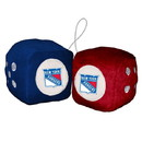 New York Rangers Fuzzy Dice Special Order