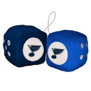 St. Louis Blues Fuzzy Dice Special Order