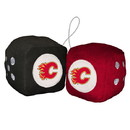Calgary Flames Fuzzy Dice Special Order