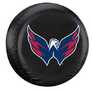 Washington Capitals Tire Cover Large Size Black Special Order