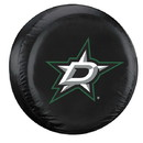 Dallas Stars Tire Cover Large Size Black Special Order
