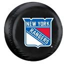 New York Rangers Black Tire Cover - Standard Size