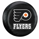 Philadelphia Flyers Black Tire Cover - Standard Size