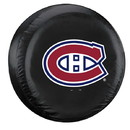 Montreal Canadiens Tire Cover Standard Size Black Special Order