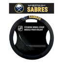 Buffalo Sabres Steering Wheel Cover Mesh Style Special Order