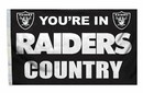 Oakland Raiders Flag 3x5 Country