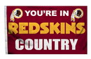 Washington Redskins Flag 3x5 Country