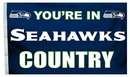 Seattle Seahawks Flag 3x5 Country