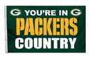 Green Bay Packers Flag 3x5 Country