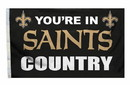 New Orleans Saints Flag 3x5 Country