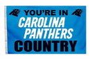Carolina Panthers Flag 3x5 Country
