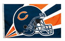 Chicago Bears Flag Flag 3x5 Helmet