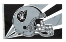 Oakland Raiders Flag Flag 3x5 Helmet