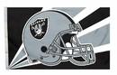 Oakland Raiders Flag Flag 3x5 Helmet