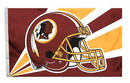 Washington Redskins Flag Flag 3x5 Helmet