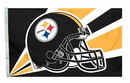 Pittsburgh Steelers Flag Flag 3x5 Helmet