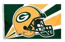 Green Bay Packers Flag Flag 3x5 Helmet