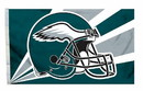 Philadelphia Eagles Flag Flag 3x5 Helmet