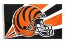Cincinnati Bengals Flag Flag 3x5 Helmet