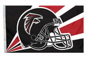 Atlanta Falcons Flag Flag 3x5 Helmet