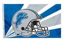 Detroit Lions Flag Flag 3x5 Helmet