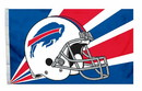 Buffalo Bills Flag Flag 3x5 Helmet